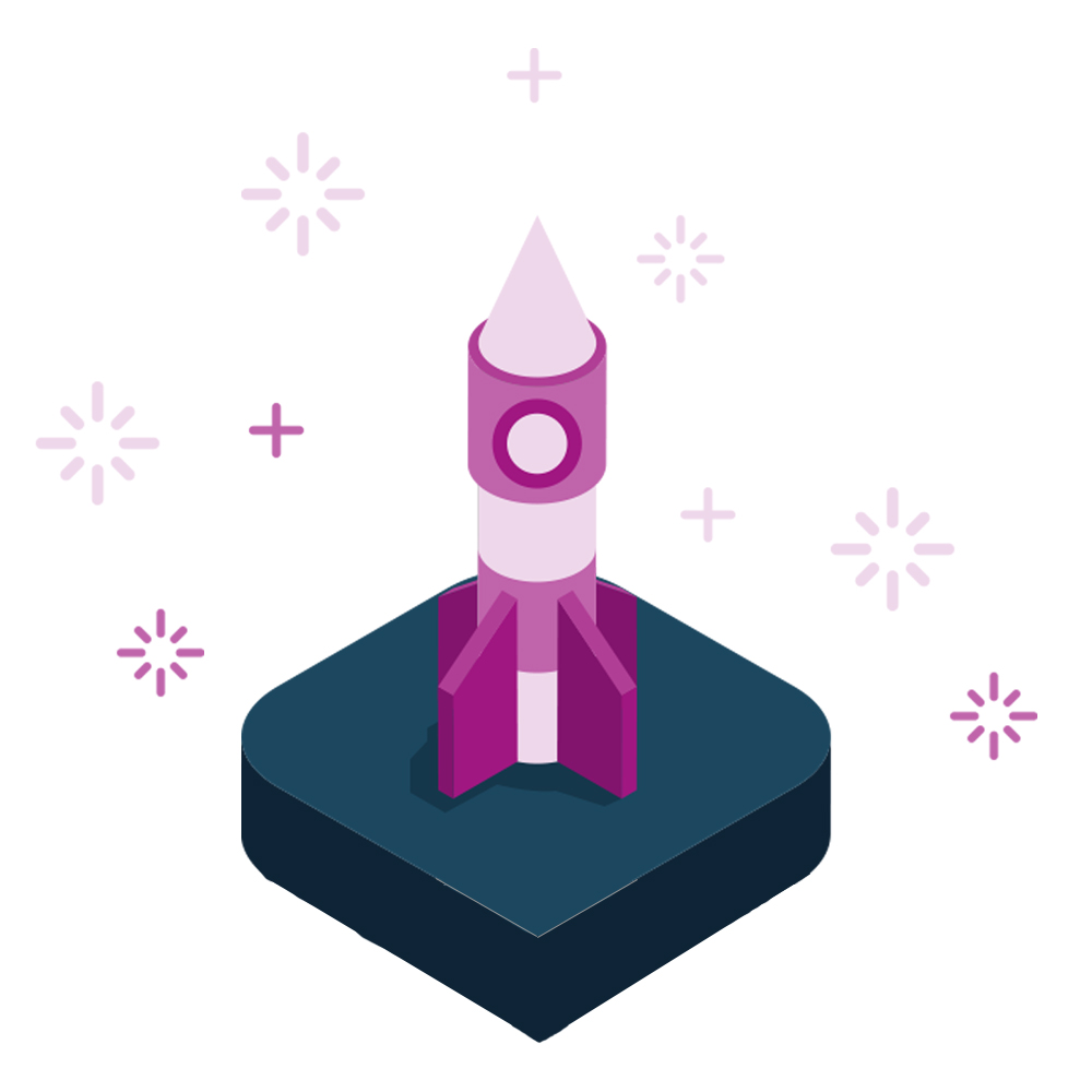 Icon of rocket